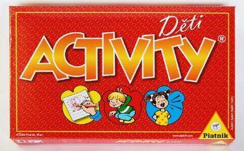 51d210ce8 Společenská hra Activity Děti je báječnou zábavou, která rozvíjí projev  nejmenších dětí. Hra Aktivity Děti je určena pro děti od 4 let pro 3 - 16  hráčů.