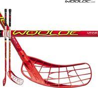 florbalová hůl Wooloc WINNER 3.2 RED 75CM 4e704a0d38