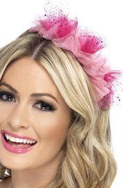 ozdoba do vlasů Růžová čelenka do vlasů 70baeb6050