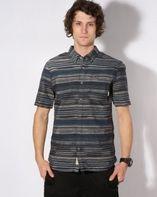 Košile Vans Rusden Ikat navy dark denim a478c6f3ad