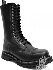 pánská zimní obuv boty Steel 15 dírkové - boty STEEL černé 45 (10) 49ae3425c7