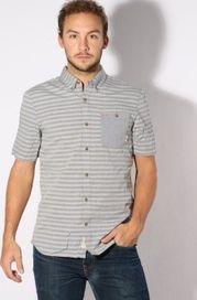 e751cf96a pánská košile Košile Vans Rusden Stripe frost grey