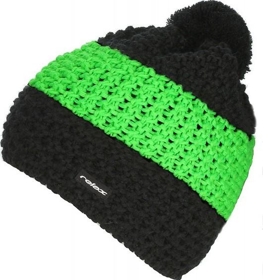 Relax RKH73C čepice - black green od 449 Kč • Zboží.cz 73dd9eb556