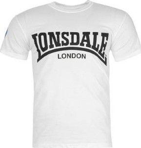 Lonsdale Retro T Shirt Mens White • Zboží.cz df44a8dde7f