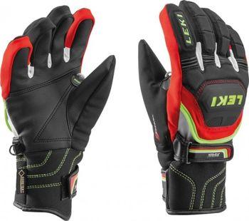 Juniorské rukavice Leki Worldcup S Junior - black-red-white-yellow ... d80d43083b