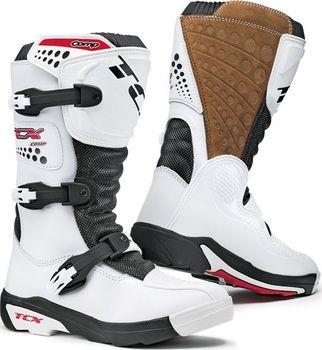 Dětské motokrosové boty TCX COMP KID bílé Motokrosové boty TCX dětské e7664727db