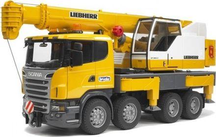 Bruder 03570 Scania autojeřáb Liebherr
