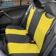9fe22bf3c845 Potah sedadla TRIKO zadní 1ks žlutý