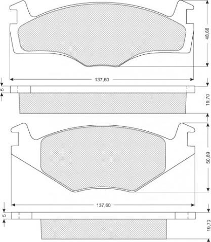 Brzdové destičky Starline (S BD S027) od 252 Kč • Zboží.cz 407ff81f27