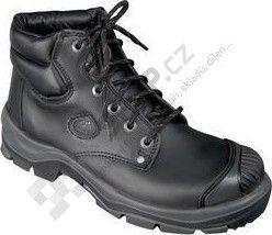 Poloholeňová obuv s ocelovou špicí a planžetou STONE TOPAZ S3 - černá 88e6765817