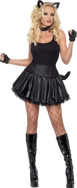 Černé sexy kočička fotky