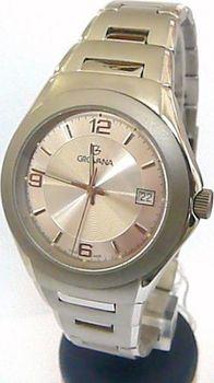 3654e577bab Grovana 1520.1. Titanové luxusní švýcarské pánské hodinky ...