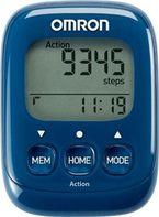 1649db84b krokoměr OMRON HJ-325-EB Walking Style IV krokoměr -tmavě modrý