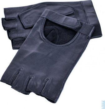 Dámské řidičské rukavice bez prsté 1430 černé 21d8198261