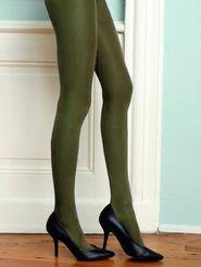 f42170f073b punčochy Barevné punčochy CHANGE Hosiery 40 DEN zelené