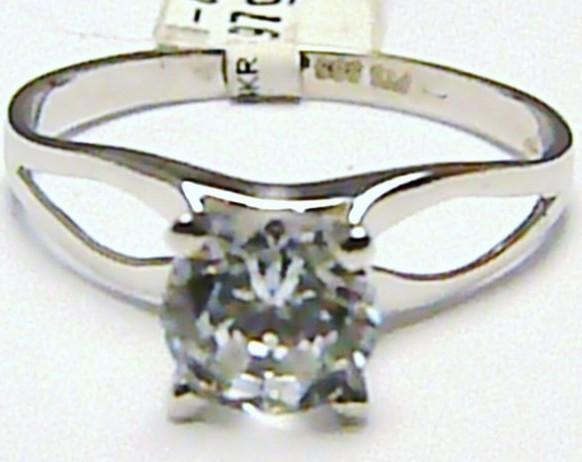 a1f68ce3c Luxusní velký zásnubní prsten s mohutným velkým zirkonem 585/1,97gr vel. 59  P391 116-6015 od 3 290 Kč | Zboží.cz