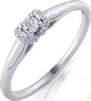 Zlaté prsteny se šperkem z bílého zlata • Zboží.cz c49abeedb5b