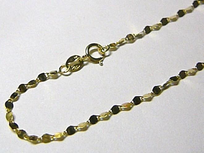 41b2a026b Dámský zlatý mohutný řetízek ze žlutého zlata 42cm - 585/1,23gr H080 od 2  090 Kč | Zboží.cz