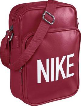 5aa11bc7f6 HERITAGE AD SMALL ITEMS Značková taška Nike Tmavě modrá BA4356011 Značková taška  Nike HERITAGE AD SMALL ITEMS je tmavě modré barvy a z přední starny má ...