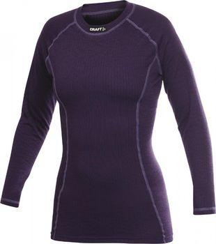 Dámské termoprádlo Craft Be Active triko dl. rukáv (tmavě fialová ... 9fe93ffdd3