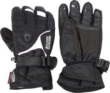 Dámské lyžařské rukavice NORDBLANC GLOVER NBWG3340 ČERNOBÍLÁ Velikost 6 . c3e3fd5bad