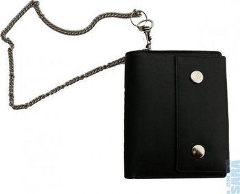7f302fb73af Pánská kožená peněženka s řetízkem