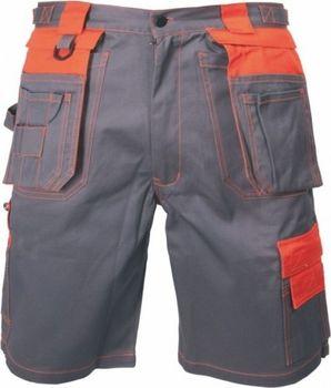 Kraťasy ORION DAVID šedo-oranžové od 371 Kč • Zboží.cz 0fc651a7a8
