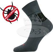 c4722b58311 pánské ponožky Boma VoXX Optifan - ponožky protiklíšťové tmavě šedá  Velikost 29-31 (43