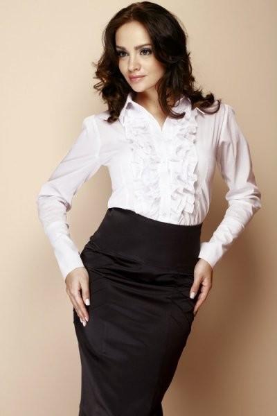 706253ad75c Dámská košile M012 white bílá XL od 768 Kč • Zboží.cz