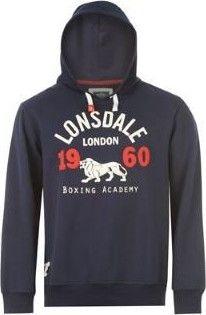 19ac97fba37d Lonsdale Over The Head Hoody Mens Navy - Srovnejte ceny! • Zboží.cz