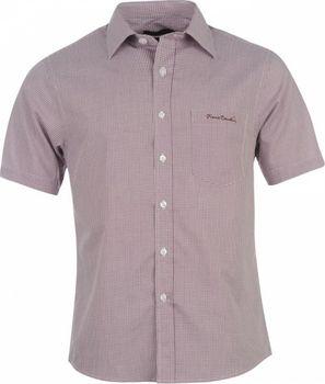 Pierre Cardin Short Sleeve Shirt Mens červená. Pierre Cardin XL košile s krátkým  rukávem pánské ... 67a8f6547a