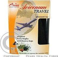 525d3c61518 Avicenum Travel podkolenky 23-25 černá