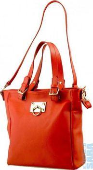 484712bb20 Dámská kožená kabelka červená 50471 - II. jakost