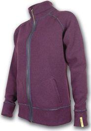 dámská mikina Sensor Merino Wool mikina dámská fialová L e531e136a3
