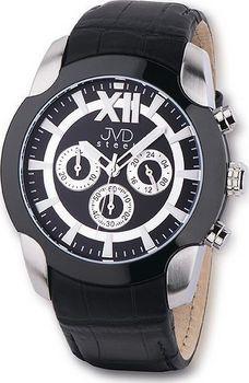 16fae2e6dd0 JVD steel C1176.3. Pánský luxusní chronograf hodinky ...
