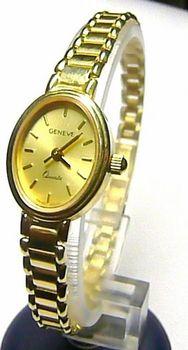 GENEVE 585. Luxusní společenské dámské švýcarské zlaté hodinky ... 2fc2fa45a6