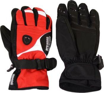Dámské lyžařské rukavice NORDBLANC GLOVER NBWG3340 ZEMITĚ ČERVENÁ  Velikost 4 . 4ee5a96418