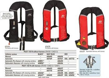 vesta samonafukovací PILOT 150N manual červená s harnessy | Zboží cz