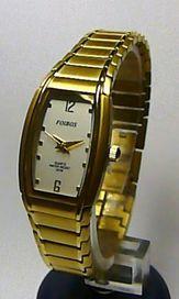 hodinky Titanové antialergické zlaté elegantní hodinky Foibos 19731 Foibos  19731 cabeed1f4d