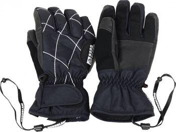 ed93cf6f01c Snowboardové rukavice dětské NORDBLANC NBWG3971L ČERNOBÍLÁ Velikost 11-12