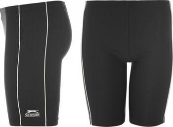 b99bdc42ad Chlapecké plavky Slazenger Swimming Jammers černé bílé od 289 Kč ...