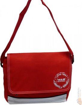 050aa886e Dámská kabelka IN211000 červená Velmi pěkná sportovní taška od známého  výrobce HIS. Do kabelky umístíte pohodlně sešit formátu A4.