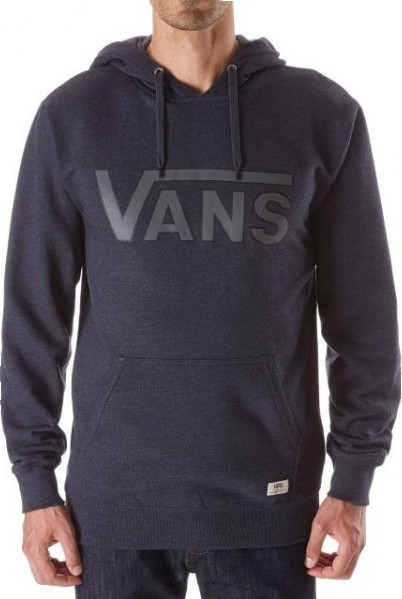 edab0fe4ff Mikina Vans Classic Pullover black heather   gravel