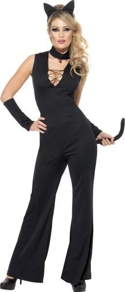 Černá sexy kočička obrázek