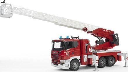 Bruder 03590 Hasičské auto Scania s výsuvným žebříkem