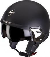 helma na motorku Otevřená přilba Scorpion EXO-100 Padova II černá černá  matná 36945f1e91