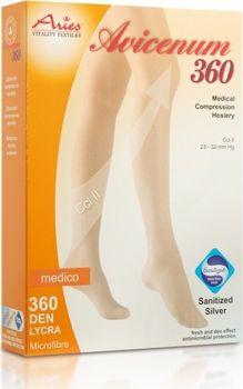 Avicenum 360 - zdravotní stehenní punčochy s   bez špice c219774dc6