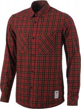 adidas PLAID SHIRT Pánská košile • Zboží.cz 10b68f128e