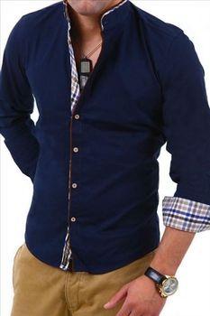 Košile Carisma 8070 tmavě modrá. Carisma 8070 tmavě modrá je pánská košile  s dlouhým rukávem ... b9dfbcccd7