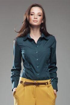 Košile dámská NIFE K35 zelená od 539 Kč • Zboží.cz 3e8c7ab773